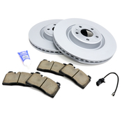 Audi VW Brake Kit - Zimmermann/Akebono 4G0615301KT5