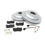 Audi VW Brake Kit - Zimmermann/TRW 7L8615601CKT2