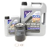 Audi Oil Change Kit 10W40 - Liqui Moly 078115561DKT