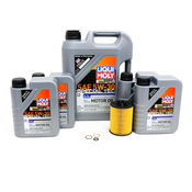 BMW Oil Change Kit 5W30 - Liqui Moly 11427542021KT2