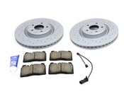 Audi VW Brake Kit - Zimmermann/Akebono 4G0615301KT6