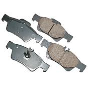Mercedes Brake Pad Set - Akebono 0074201020