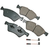 Mercedes Brake Pad Set - Akebono 1644202220