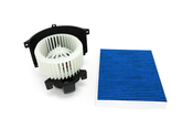 Porsche HVAC Blower Motor Kit - Nissens 87139KT