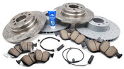 BMW Brake Kit - Akebono/Zimmermann E38BK2
