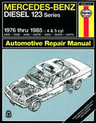Mercedes Benz Haynes Repair Manual - Haynes HAY-63012