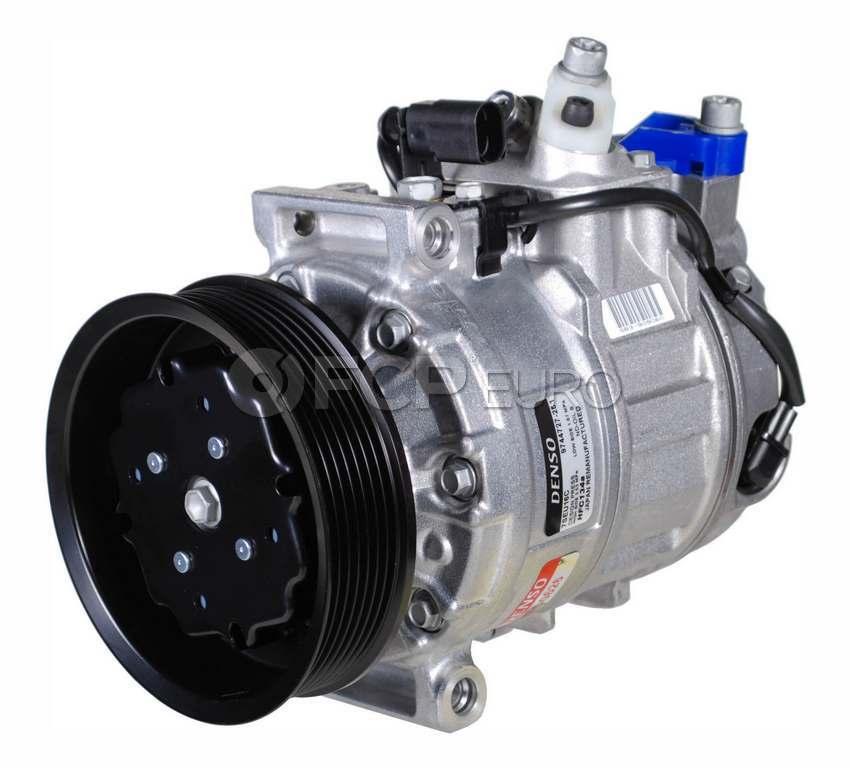 VW A/C Compressor - Denso 7L6820803B